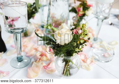 Table Setup, Wedding Guest Table, Reception Layout