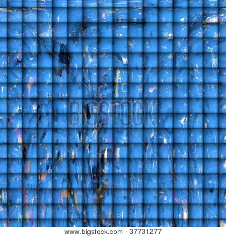Abstract Digital Art - Tiles of Playfulness