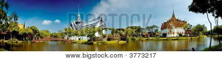 Panorama Of Ancient City Thailand