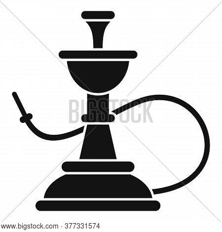 Dubai Hookah Icon. Simple Illustration Of Dubai Hookah Vector Icon For Web Design Isolated On White