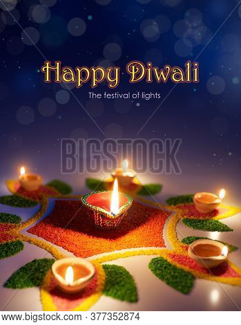 Happy Diwali, The Festival Of Lights, Diya Oil Lamp