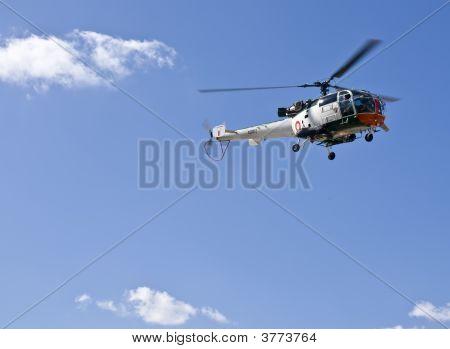 Alouette In Flight