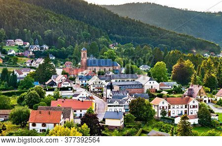 Village Of Wangenbourg-engenthal In The Vosges Mountains - Bas-rhin, Alsace, France