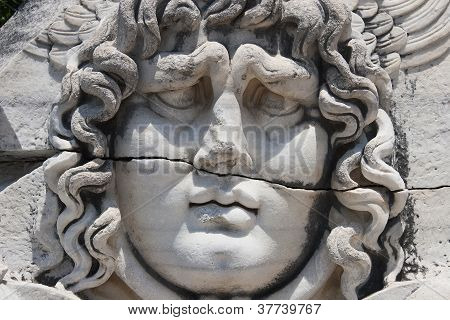 Medusa Gorgon in Apollo Temple