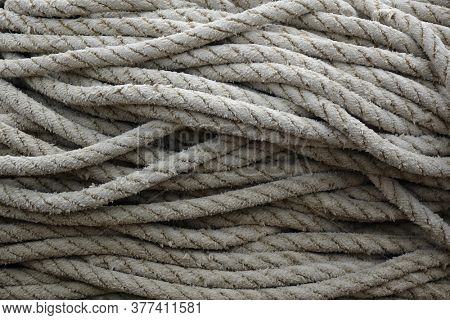a skein of fishing rope