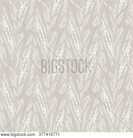 Seamless White Grey Linen Texture Background. Mottled Neutral Streaked Blotched Marks Pattern. Subtl