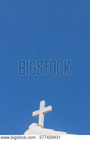 Crucifix On Agios Dimitrrios Church, Paralimni, Cyprus Europe