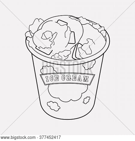 Vermont Icon Line Element. Vector Illustration Of Vermont Icon Line Isolated On Clean Background For