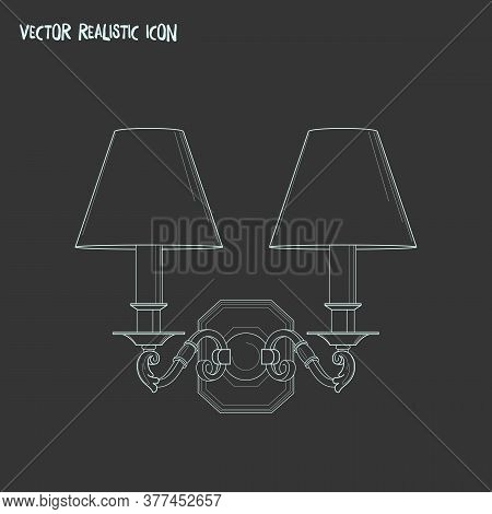 Ceiling Icon Line Element. Vector Illustration Of Ceiling Icon Line Isolated On Clean Background For