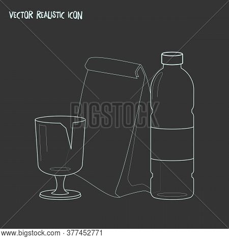Trash Sorting Icon Line Element. Vector Illustration Of Trash Sorting Icon Line Isolated On Clean Ba