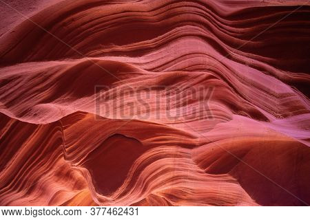 Famous Antelope canyon near Page, Arizona