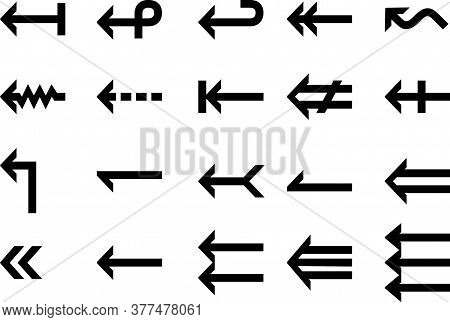 Set Left Arrow Icon, Left Arrow Icon Eps8, Left Arrow Icon Vector, Left Arrow Icon Eps, Left Arrow I