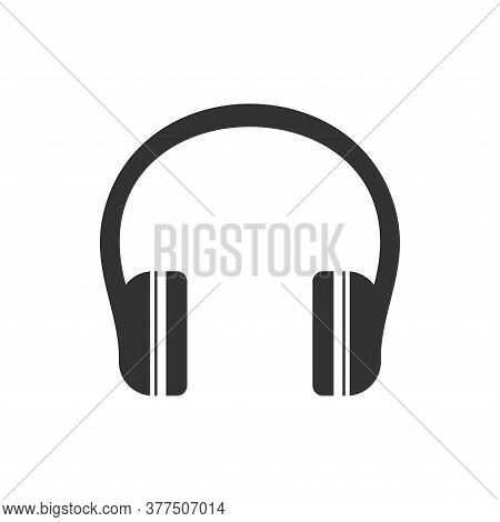 Headphone Icon. Headphone Icon Vector. Headphone Icon Isolated On White Background. Headphone Icon M