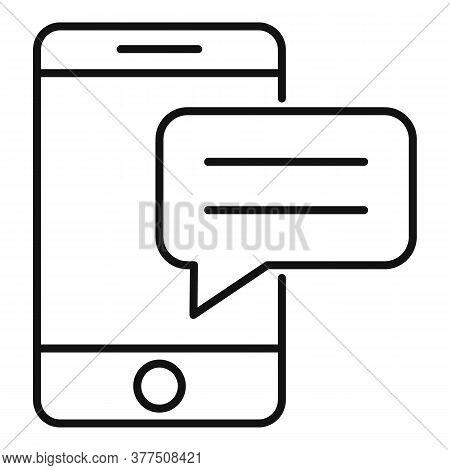 Storyteller Smartphone Icon. Outline Storyteller Smartphone Vector Icon For Web Design Isolated On W