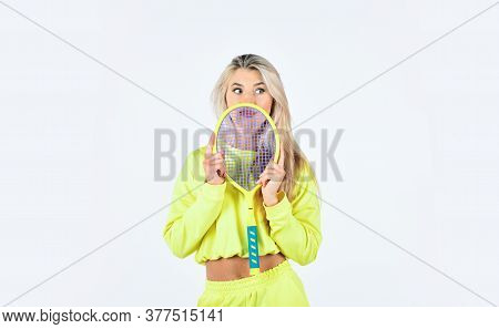 Play Game. Tennis Club Concept. Summer Activity. Active Leisure And Hobby. Tennis Sport And Entertai