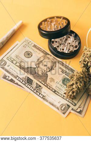 Sativa Thc Cbd. Joint Weed. Money Weed. Cannabis In Economics. Cannabis Money Black Market.
