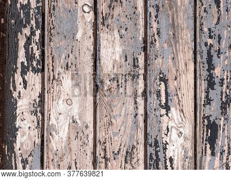 Texture Background Black. Dark Grain Panel Board Table With Copy Space. Old Floor Wooden Pattern. Ti