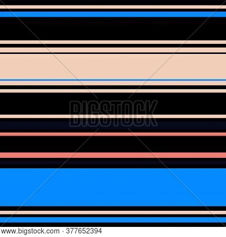 Sailor Stripes Seamless Pattern. Male, Female, Childrens Summer, Spring Seamless Stripes Texture. Bu