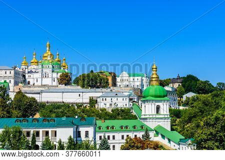 Buildings Of Kiev Pechersk Lavra In Kiev, Ukraine
