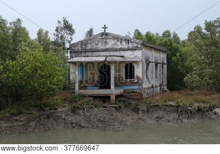 Christian Church in Sundarbans National Park, West Bengal, India