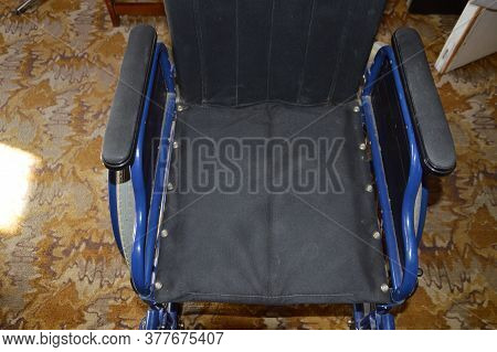 Wheelchair In Various Positions And The Details