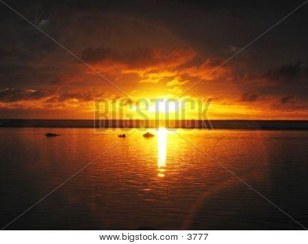 Rarotongan Sunset 03