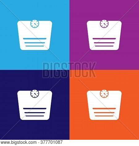 Bathroom Scales Icon. Bathroom And Sauna Element Icon. Signs, Outline Symbols Collection Icon For We