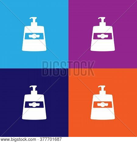 Liquid Soap Icon. Bathroom And Sauna Element Icon. Signs, Outline Symbols Collection Icon For Websit