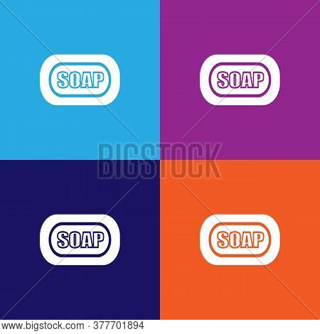 Soap Icon. Bathroom And Sauna Element Icon. Signs, Outline Symbols Collection Icon For Websites, Web