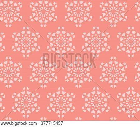Arabesque Vector Wallpaper, Texture, Background, Pattern. Geometric Arabesque Halftone Texture With