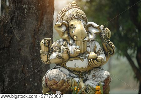 Ganesha Is The God Of Success. That Hindus In India And Buddhists Around The World Respect And Worsh