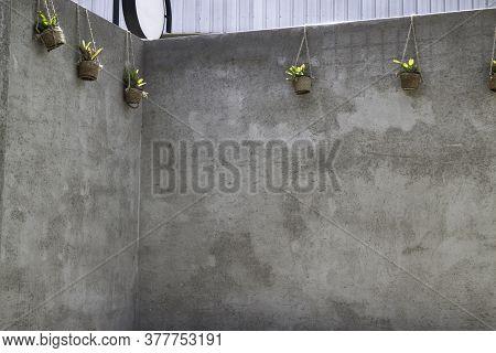 Outdoor Coffee Shop Loft Surrounding, Stock Photo