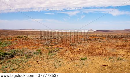An image of a landscape scenery at the Australia outback desert