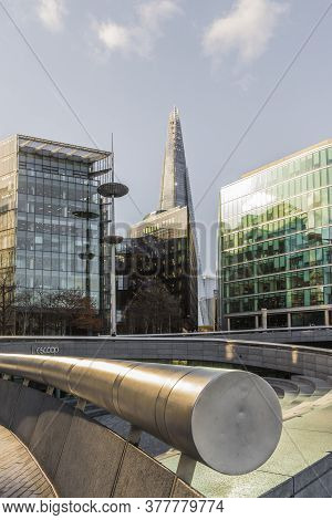 July 2020. London. More London And The Shard London In England