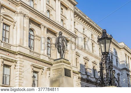 July 2020. London. Statue Of Robert Clive, Westminster, London, England United Kingdom Europe