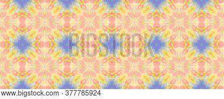 Portuguese Decorative Tiles. Geometric Summer Sunshine Pattern. Portuguese Decorative Tiles Backgrou