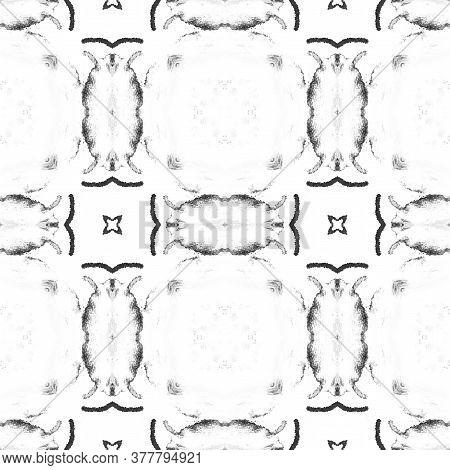 Portuguese Decorative Tiles. Vintage Elegant Sicily Pattern. Black Geo Elegant Carpet. Portuguese De