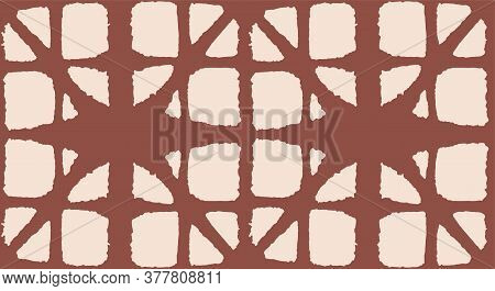Japanese Tie Dye Seamless Pattern. Elegant Kimono Fabric. Vintage Shibori Seamless Pattern. Geo Shel