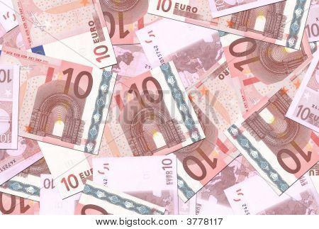 10 Euro Notes Texture