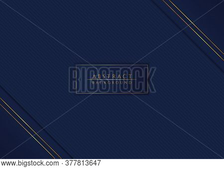 Abstract Geometric Triangle Overlap Layer Shape Design Pattern Background With Space For Content. Ve