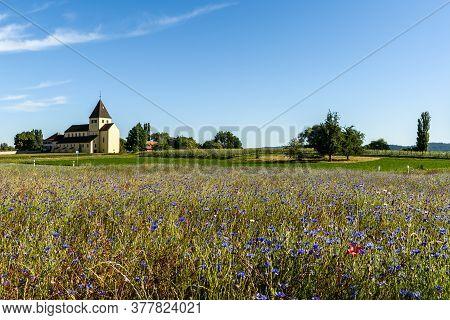 Church Of Saint George, Monastic Island Of Reichenau, Lake Constance, Baden-wuerttemberg, Germany