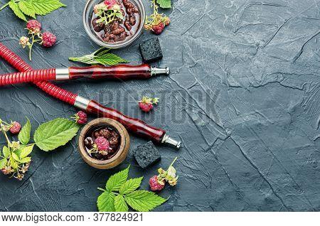 Eastern Shisha With Berry Jam.