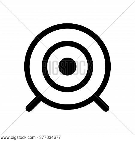 Target - Accurate Icon Vector Design Template