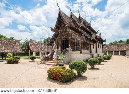 Wat Inthrawat Temple Is One Of The Finest Examples Of Classic Lanna Style Architecture In Northern T