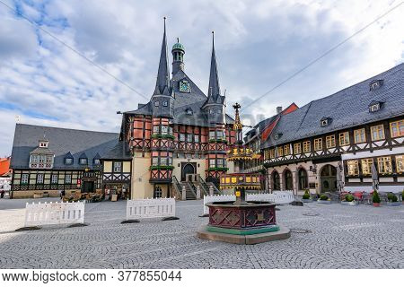 Town Hall On Market Square, Wernigerode, Germany