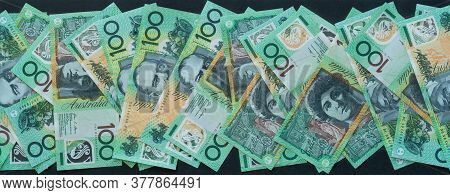 Many One Hundred Dollar Notes To Make Banner $100