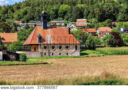 Old Stone Country Church, Sommer,  Bavaria, Germany