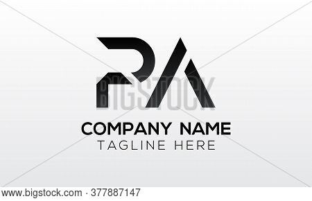 Initial Pa Letter Logo With Creative Modern Business Typography Vector Template. Creative Letter Pa