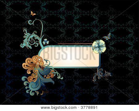 Art Deco Vector Banner