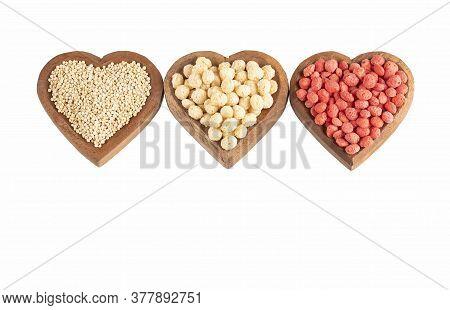 White And Strawberry-flavored Quinoa - Chenopodium Quinoa